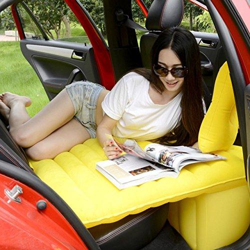 HOMEE@ Auto Aufblasbare Bett Auto Erwachsene Matratze Hintere Reise Bett Auto in Den Rücken Sitz Suv Schlaf-pad Auto Schock Bett Luftkissen