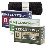 Duke Cannon Mens Bar Soap Bundle and Fre...