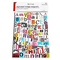 Alphabet Letters Fridge Magnet 150 Letters Funky Font Fun Message Decoration