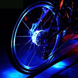 Wasserdichte LED Bike Wheel Lights, Bodecin Cool Colorful Bike Warning Light, 3...