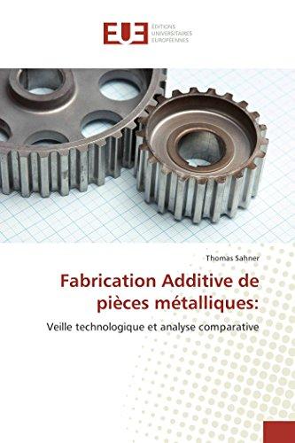 Fabrication additive de pièces métalliques: