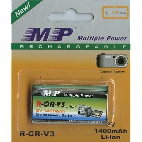 CR-V3batteria ricaricabile 1400mAh