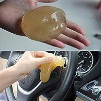 Eprhy Kit de herramientas de limpieza para coche, accesorios de microfibra, para quitar el polvo del interior del coche, pegamento limpiador, 1 unidad