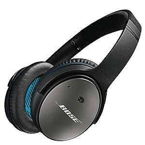 Bose QuietComfort 25 Acoustic Noise Cancelling Kopfhörer (geeignet für Samsung- und Android-Geräte) schwarz