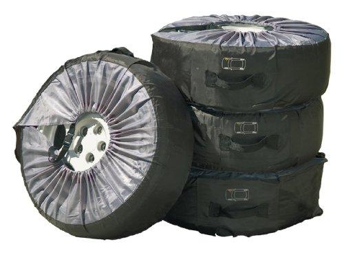 """Cartrend Bolsas de neumáticos-Set 4-piezas, hasta 17"""" y 225 mm anchura de neumático"""
