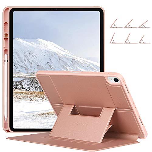 ZtotopCase Hülle for 2018 iPad Pro 12.9 3. Generationen,Magnetisch Schutzhülle mit Pencil Halter und mehrere Blickwinkel,Auto Wake/Sleep case Cover für iPad Pro 12.9 Zoll 2018 A1876/A1895/A2014,Rosé -