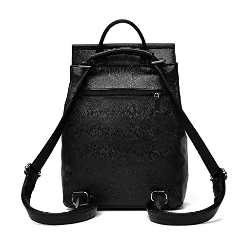 Mefly Nuova Ondata Di Donne Zaino Nuovi Studenti Fashion Leisure Claret black