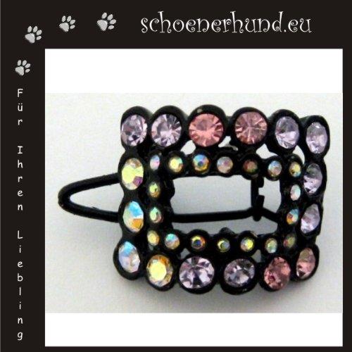 Bild von: Haarschmuck für Hunde mit funkelnden Strass - Exklusive Haarspange von Dogs Stars - Haarclipp multicolor