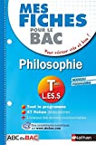 mes fiches abc du bac philosophie term l es s