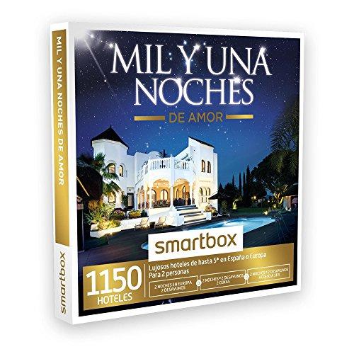 SMARTBOX – Caja Regalo – MIL Y UNA NOCHES DE AMOR – 1150 hoteles de hasta 5* en España, Europa, Marruecos y Túnez