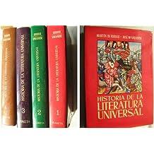HISTORIA DE LA LITERATURA UNIVERSAL (4 volúmenes)