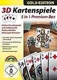 3D Kartenspiele 5in1 Premium Box - SKAT, Poker, Rommé, Doppelkopf und Schafkopf für Windows 10 8.1 8 7 Vista