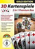 3D Kartenspiele Box Gold Edition - Skat, Poker, Doppelkopf, Schafkopf, Romm� f�r Windows 10 / 8.1 / 7 Bild