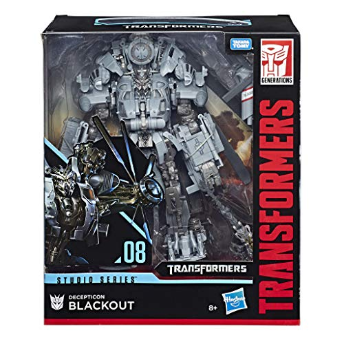 Transformers – Figurine MV6 Studio Series Leader TF1 Blackout, e0980