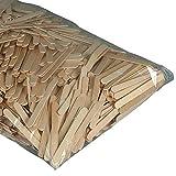 Bastelhölzer - Eisstiele, Holzstäbchen natur, zum Basteln und Rühren, 1000 Stück