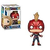 Funko Pop! Chase - Figura de Vinilo Captain Marvel de Captain Marvel (36341)