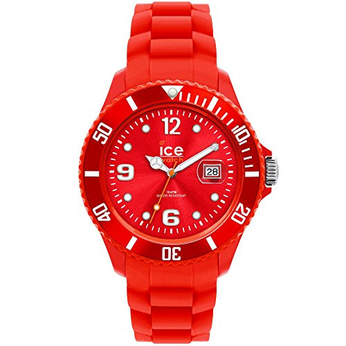 Ice-Watch – ICE forever Red – Men's (Unisex) wristwatch with silicon strap – 000129 (Small)