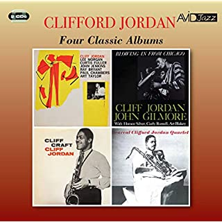 Four Classic Albums (Cliff Jordan / Blowing In From Chicago / Cliff Craft / Bearcat)
