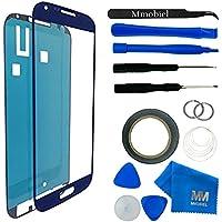 MMOBIEL Kit de Reemplazo de Pantalla Táctil para Samsung Galaxy S4 i9500 i9505 Series (Azul) Incl Kit de Herramientas / Pinzas / Cinta adhesiva / Limpiador / Alambre / Manual