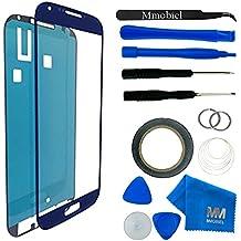 Kit de Reemplazo de Pantalla Táctil MMOBIEL para Samsung Galaxy S4 i9500 i9505 Series (Azul) incluye pantalla de Vidrio / cinta adhesiva de 2 mm / Kit de Herramientas / Limpiador de microfibra / alambre Metálico / Manual de Instrucciones