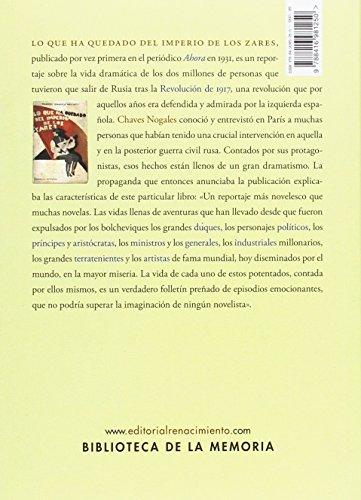 Lo que ha quedado del imperio de los zares (Biblioteca de la Memoria, Serie Menor) leer libros online gratis en español pdf
