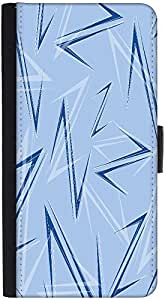 Snoogg Blue Z Designer Protective Phone Flip Back Case Cover For Xiaomi Redmi Note 3