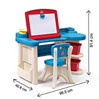 STEP2 STUDIO ART DESK REFRESH 843100 Creative art desk