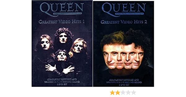 Queen the Greatest Video Hits DVD Complete Collection 1 and