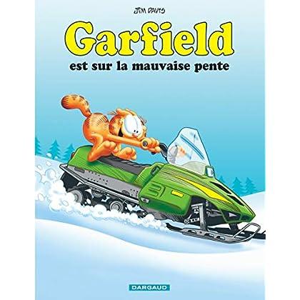 Garfield - tome 25 - Garfield est sur la mauvaise pente (25)