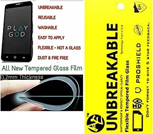 AE(TM) TEMPERED GLASS 0.2mm UNBREAKABLE REUSABLE SCREEN PROTECTOR Film Guard FOR NOKIA LUMIA 720