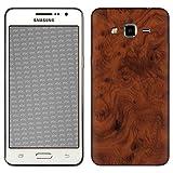atFolix Samsung Galaxy Grand Prime Skin FX-Wood-Root Designfolie Sticker - Holz-Struktur/Holz-Folie
