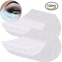 Providethebest 100 piezas pegatinas de sombra de ojos maquillaje de pestañas injertadas pegatinas de aislamiento bajo