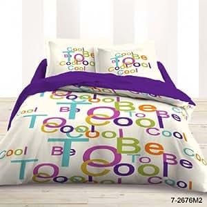 """Linge de lit / Parure / Housse de couette """"To be cool"""" - 220x240 cmLefebvre Textile"""