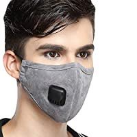 Anti-Dust Muzzle PM2.7 Antibacterial Outdoor Trip Protection Breathable Safety Air Fog Respirator Mouth Mask for Men Women