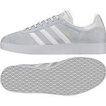 Adidas Gazelle W, Zapatillas de Deporte para Mujer, Blanco Blacla/Tinorc 000,