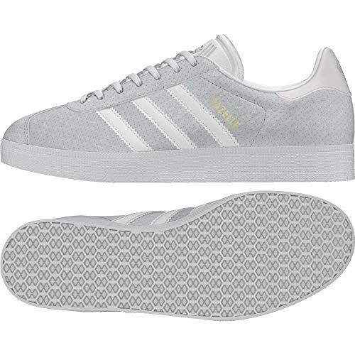 Adidas Gazelle W, Zapatillas de Deporte para Mujer, Blanco Blacla/Tinorc 000, 38 2/3 EU