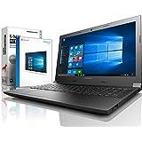 Lenovo (15,6 Zoll) Notebook (Intel Pentium N3700 Quad Core 4x2.40 GHz, 8GB RAM, 1000GB S-ATA HDD, Intel HD Graphic, HDMI, Webcam, Bluetooth, USB 3.0, WLAN, Windows 10 Professional 64 Bit) #5355