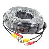 Genérico de vídeo BNC y de alimentación de CC Cable de extensión / plomo con Conector para cámara de vigilancia Cámaras / CCTV Seguridad Conector 40m
