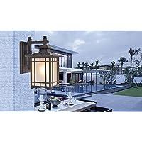 CLG-FLY Pared al aire libre lámpara pared lámpara balcón jardín lámparas europeas luz escalera