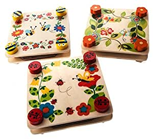 Gisela Graham Wood Flower Press 1 Randomly Selected x 1