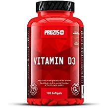 Vitamina D3 1000 UI 120 cápsulas blandas