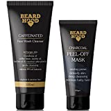 #9: Beardhood Caffeine Face Wash Cleanser (100ml) and Charcoal Peel Off Face Mask (60ml) Combo