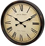 Fox and Simpson Grand Central Station Extragroße Wanduhr, 50 cm