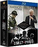 Clint Eastwood - Portraits de Héros - Le 15h17 pour Paris + Sully + American Sniper