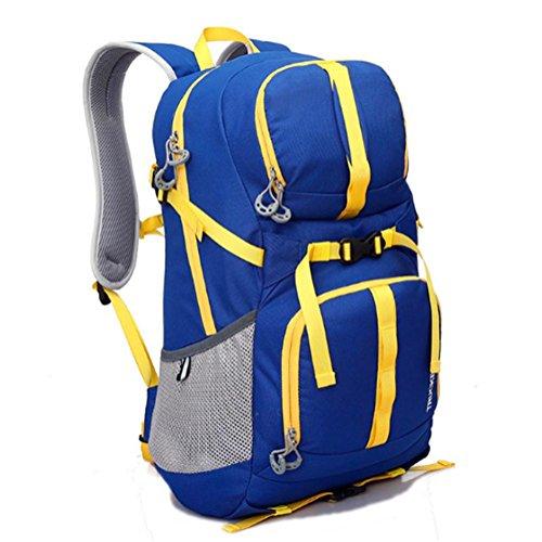 L'alpinismo esterno insacca, borse da viaggio, zaini, oneri traspiranti, impermeabili del doppio, di grande capacità, materiale in poliestere, neutrale / sia uomini che donne 40L , e d