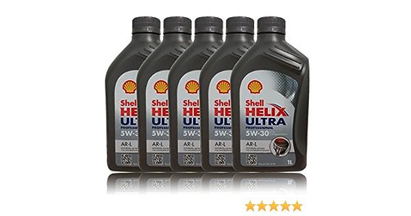 Shell Motoröl Öl Helix Ultra Professional Ar L 5w30 Renault Rn0720 5l 5 Liter Auto