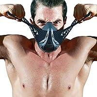 Preisvergleich für Neue Sportmaske von FDBRO. Schwarz oder Kohlefaser, verstaubar, Sportmaske 3.0 für Höhentraining, inkl. Aufbewahrungsbox