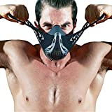FDBRO Sports Masque, Fitness, Gym, La Résistance, L'altitude, L'entraînement Cardio Sports Masque 3.0 Training Sport Mask (Fibre de Carbone, M)...