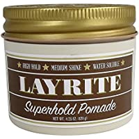 Layrite Super Hold Deluxe Hair Gel, 4Oz