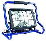 as - Schwabe Mobiler Chip-LED-Strahler 80 W, IP 44 Baustrahler für Aussen und Baustelle, Blau, 46428